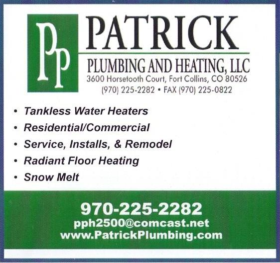 Patrick Plumbing and Heating, LLC