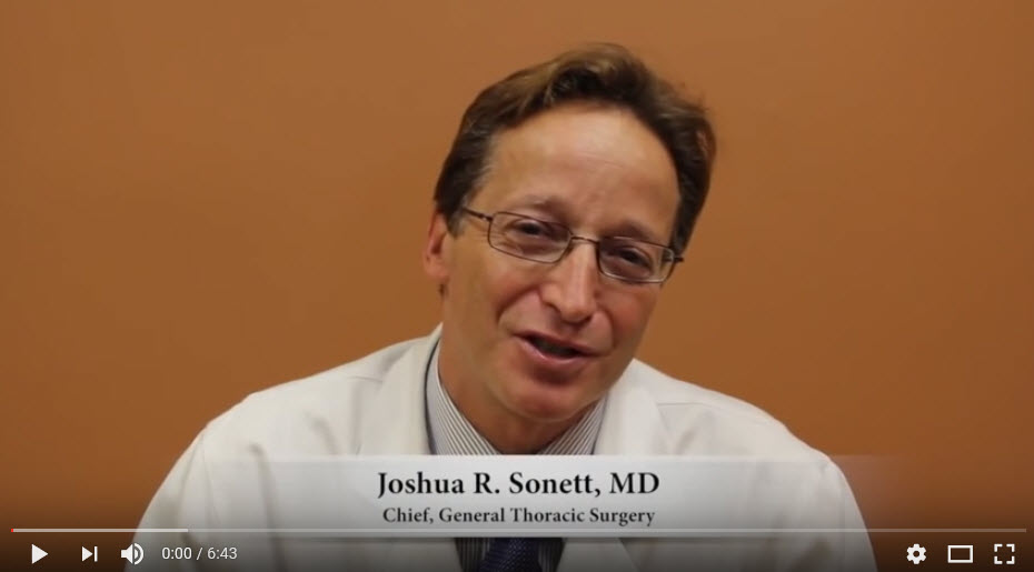 Video of Oncologist talking about Lungcancer and Radon