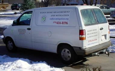 Radon Home Measurement & Mitigation Van